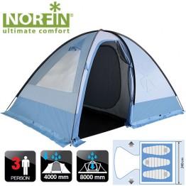 Трёхместная палатка Norfin Nivala 3